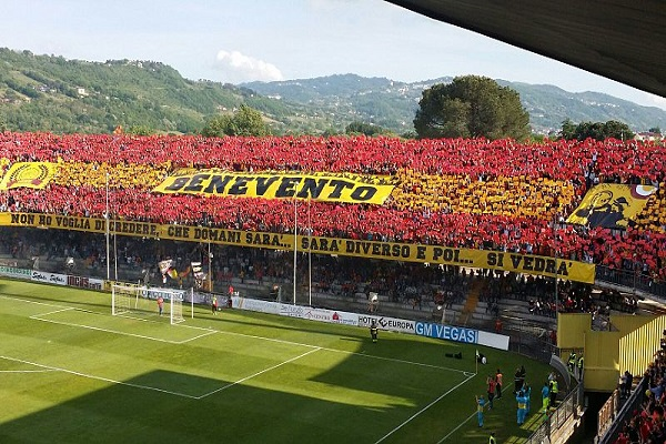 Benevento-Spezia in streaming online, orario e dove vederla in Tv