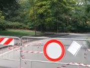 Ponte San Nicola Benevento chiuso tra disagi e proteste residenti e commercianti