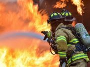Stir rifiuti di Casalduni in fiamme, Vigili del Fuoco in azione
